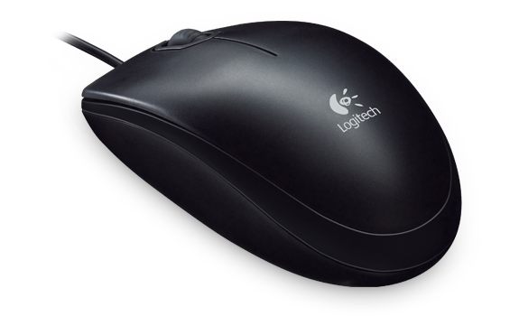 Logitech B100 USB Optical Wheel Mouse