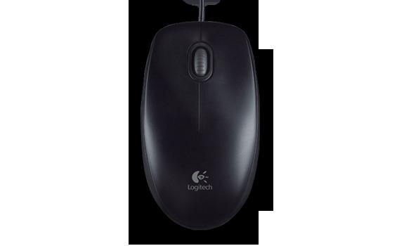 Logitech B100 USB Optical Wheel Mouse